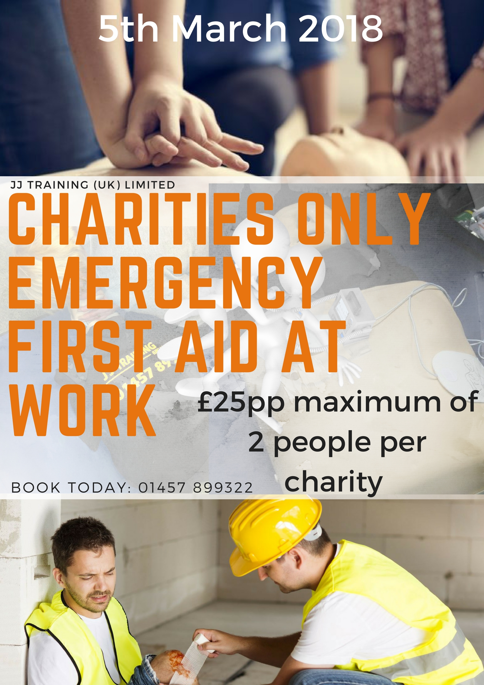 Local Charities Only First Aid Course