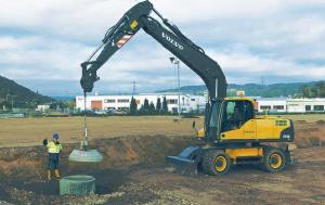 Excavator as Crane
